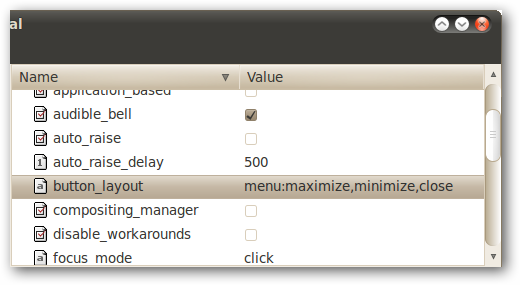 Move Window Buttons Back to the Right in Ubuntu 10.04 / 10.10 5