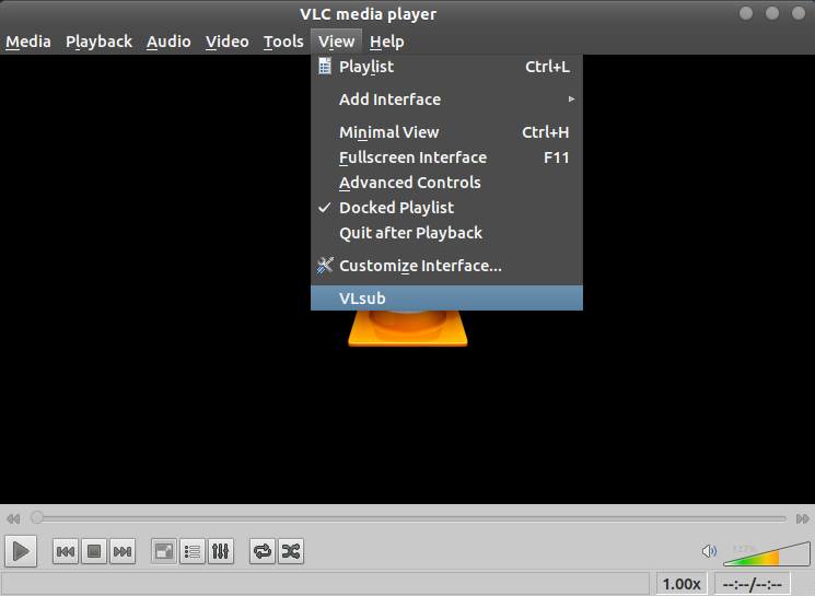 VLSub plugin for VLC media player - how to install and use - ubuntu 11.10 (unity) 3