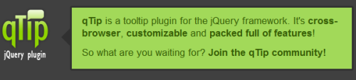 JQuery tooltips - 6 plugins to easilly create tooltips 2