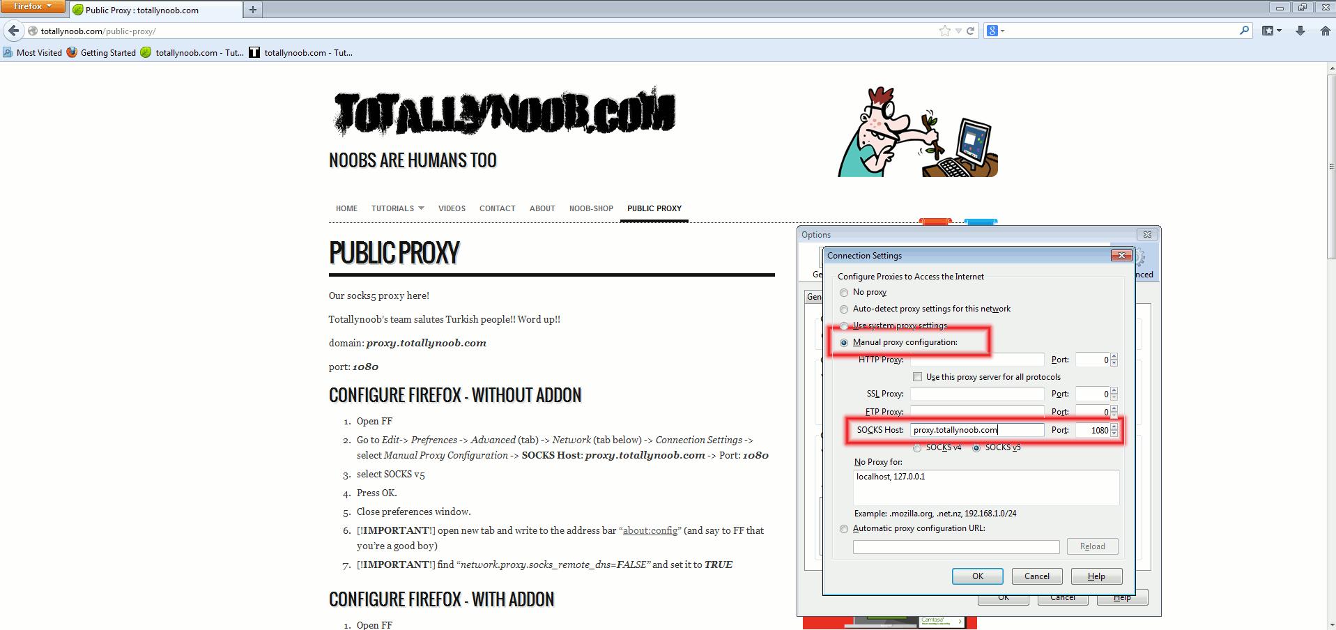 Public Proxy - totallynoob com