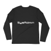 SysAdmin Long Sleeve Fitted Crew 3