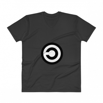 Copyleft V-Neck T-Shirt