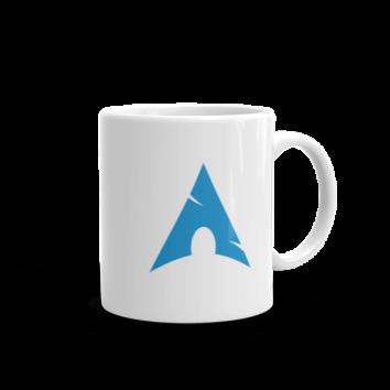 arch linux mug