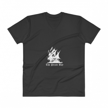 Piratebay V-Neck T-Shirt