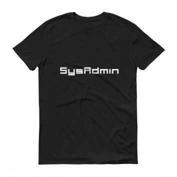 SysAdmin T-Shit