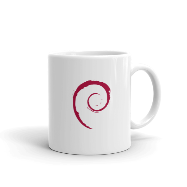 The Debian Mug 2