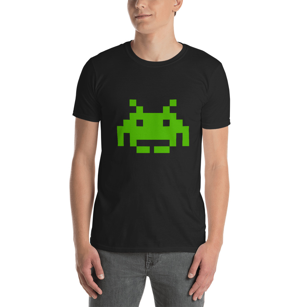 Space Invaders 1 T-Shirt 2
