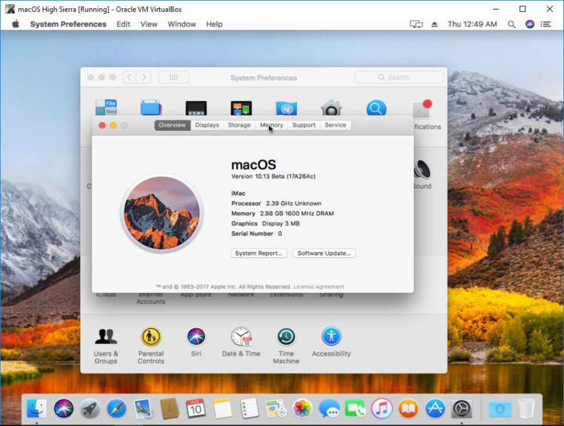 How to install MacOS Sierra guest on VirtualBox on Ubuntu host 5