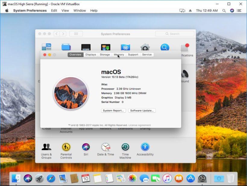 How to install MacOS Sierra guest on VirtualBox on Ubuntu host 1