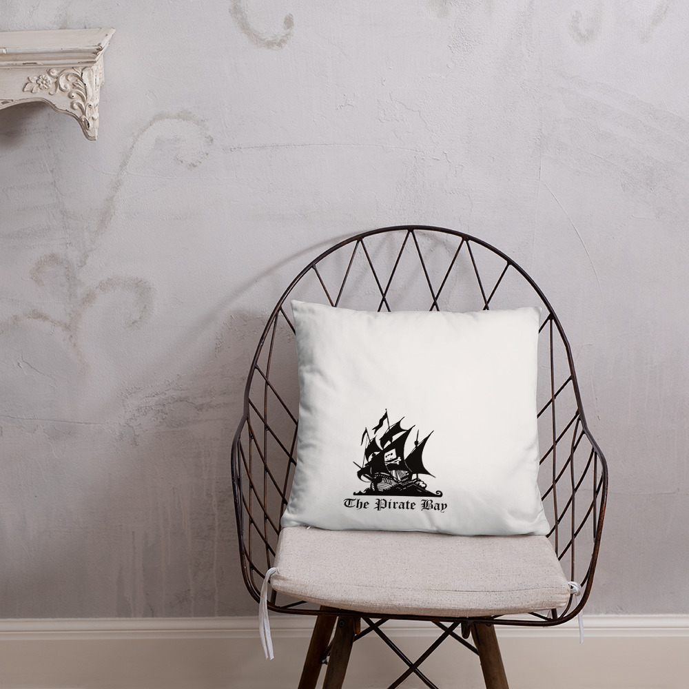 The Pirate Bay Pillow! 2