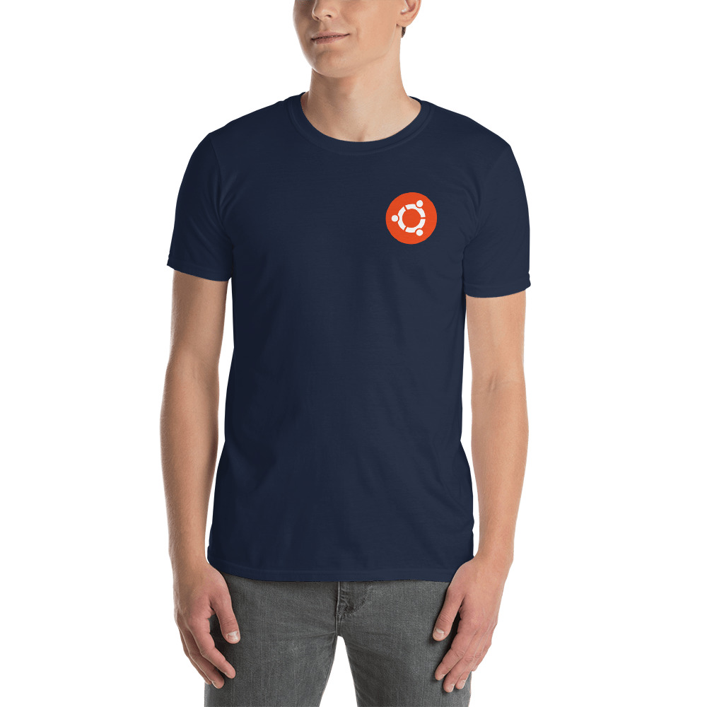 Ubuntu badge T-Shirt 2