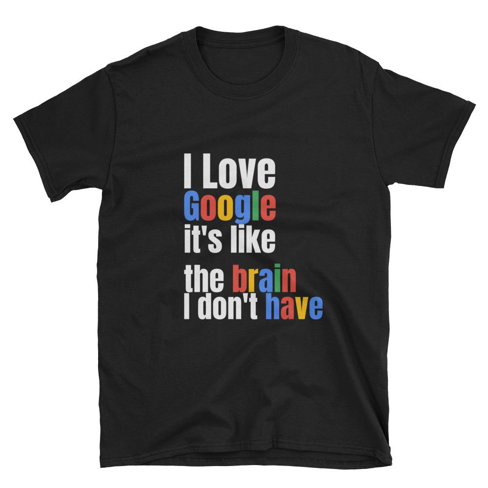 google funny t-shirt