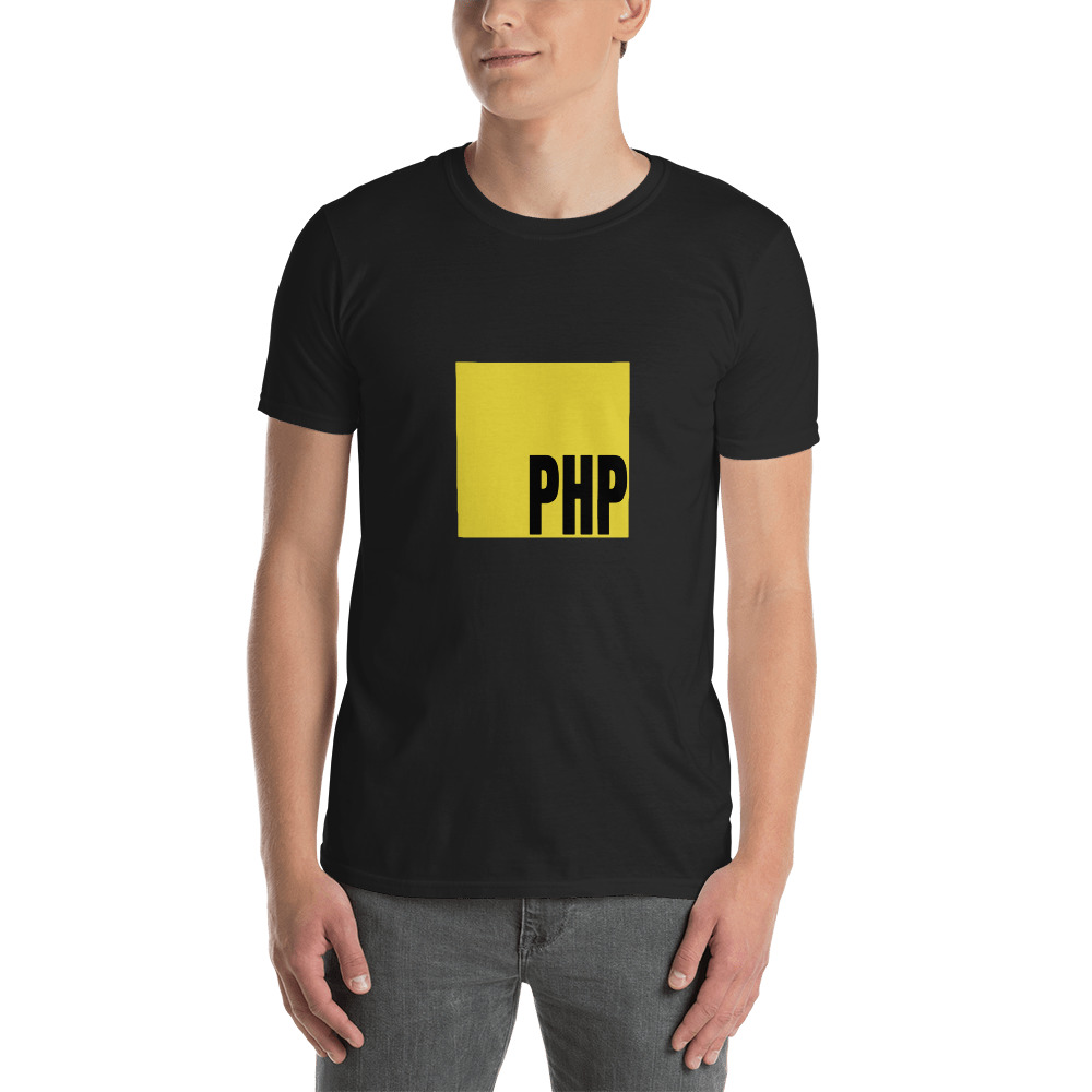 Javascript (PHP) Funny T-Shirt 2