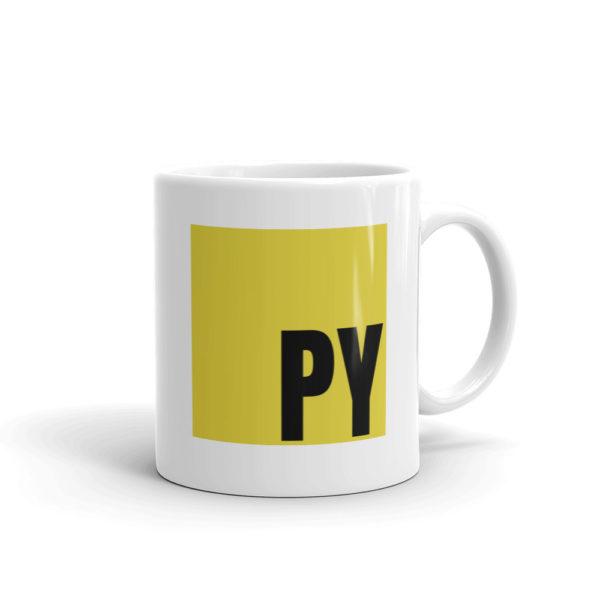 Python (Javascript) Funny Mug 1