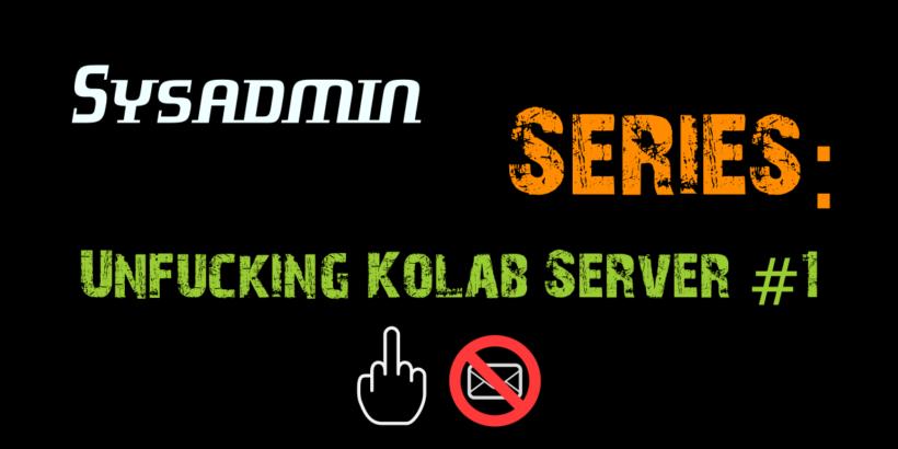 HowTo Fix kolab_smtp_access_policy exit status 1 1