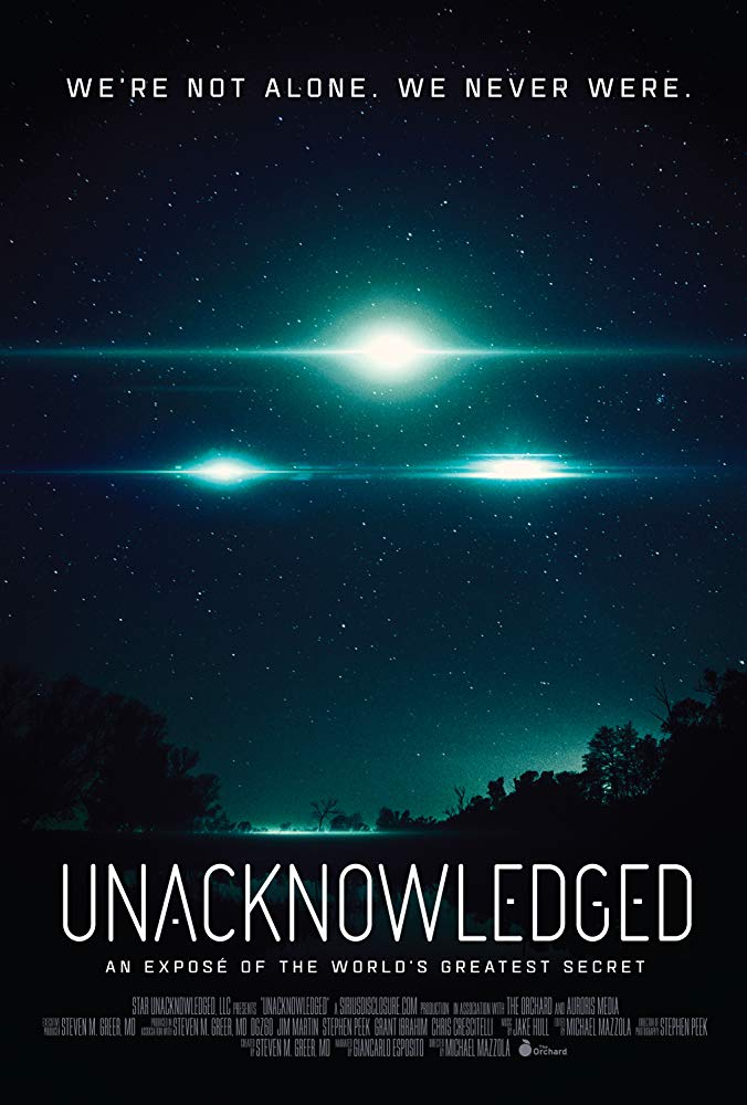 The Unacknowledged 2017 Documentary 1
