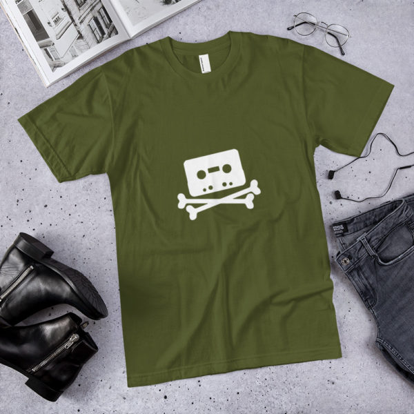 Home taping is killing music cassette Jersey 1