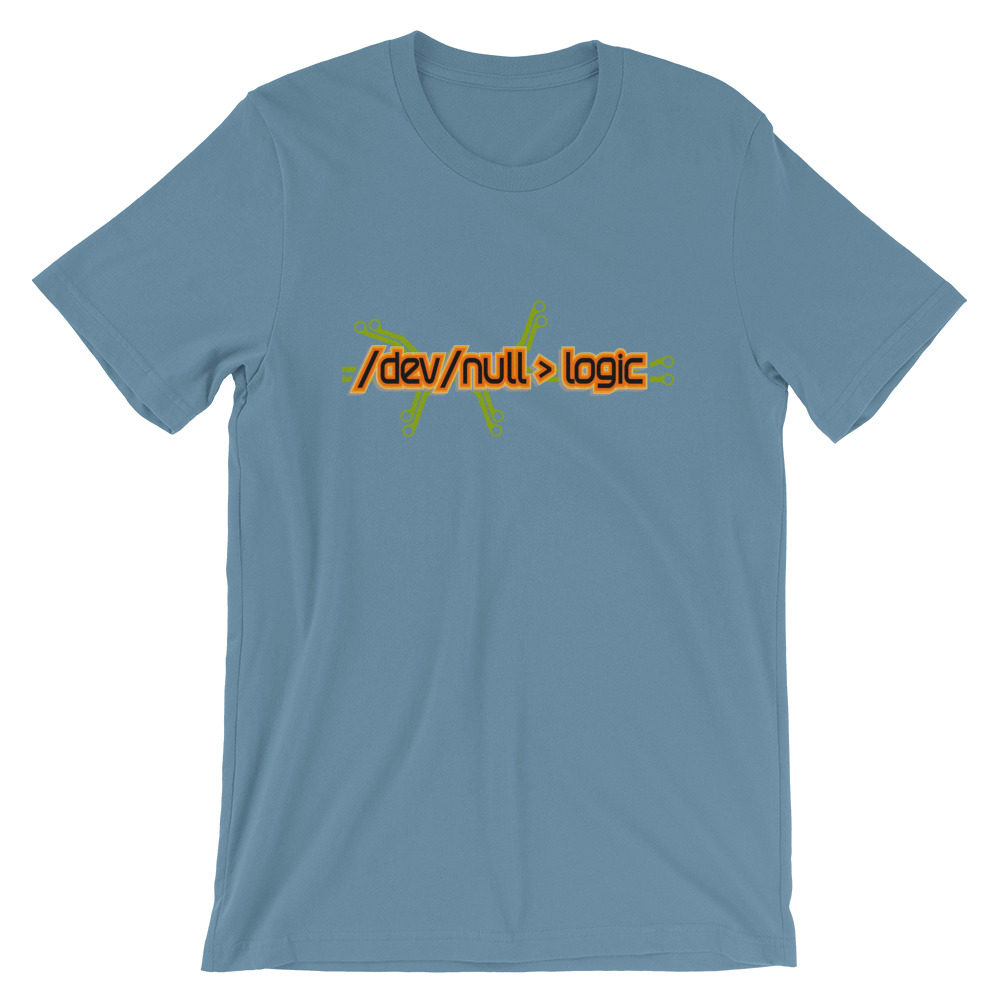 /dev/null > logic Unisex T-Shirt 2