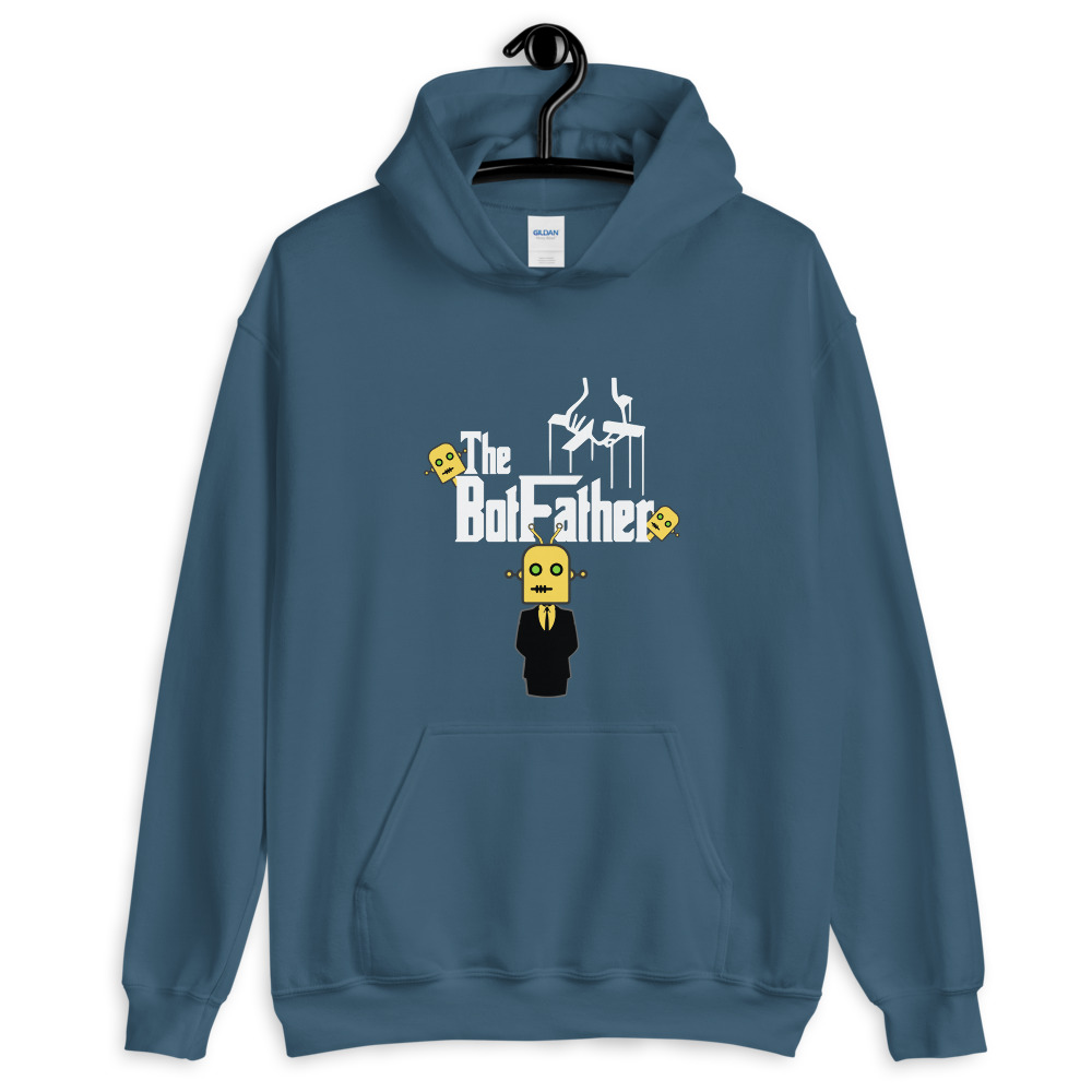 The BotFather Unisex Hoodie 2